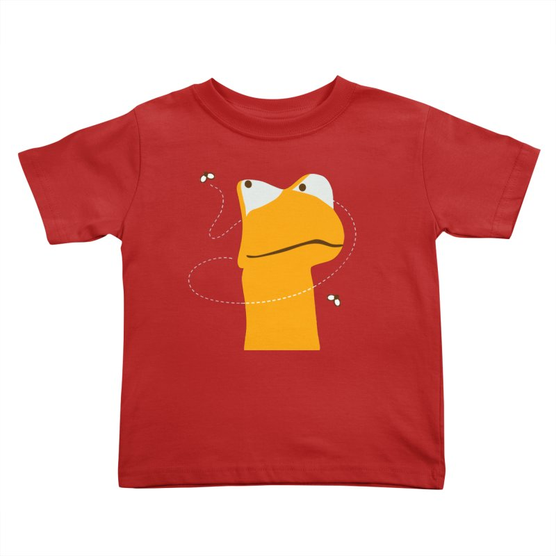 Felix the Frog (on dark colors) Kids Toddler T-Shirt by mafemaria