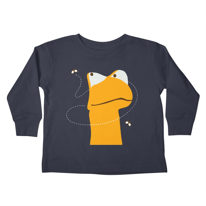 Felix (on dark colors) Kids Toddler Longsleeve T-Shirt by mafemaria