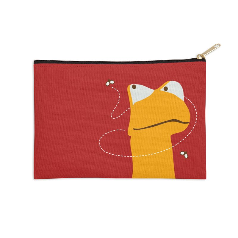 Felix (on dark colors) Accessories Zip Pouch by mafemaria