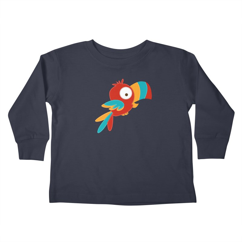 Paco Kids Toddler Longsleeve T-Shirt by mafemaria