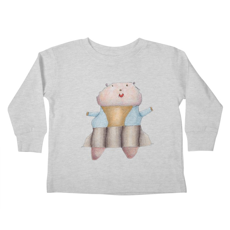 Osa Guerrera Kids Toddler Longsleeve T-Shirt by mafemaria