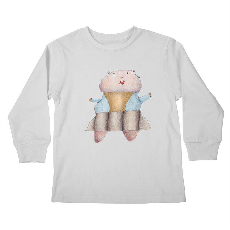 Osa Guerrera Kids Longsleeve T-Shirt by mafemaria