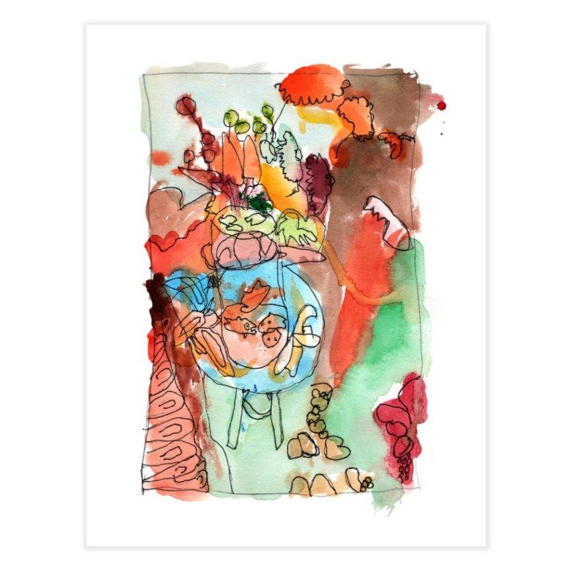 Kiki Matisse Home Fine Art Print by mafemaria
