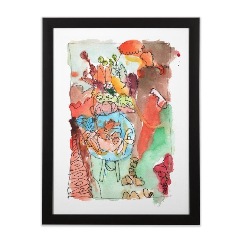 Kiki Matisse Home Framed Fine Art Print by mafemaria