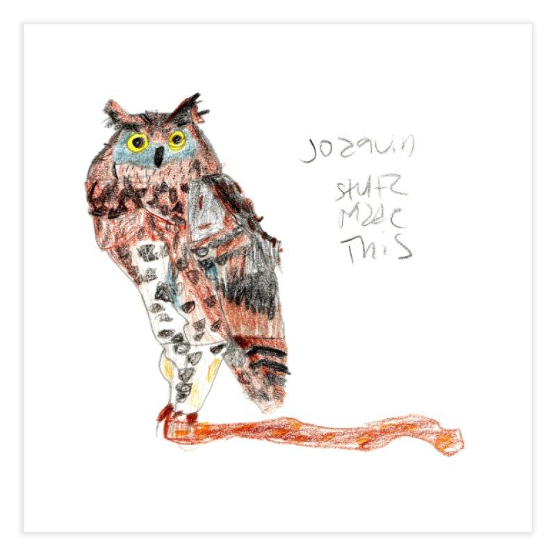 Owl • Buho Home Fine Art Print by mafemaria