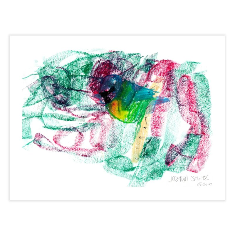Blue Tit Home Fine Art Print by mafemaria