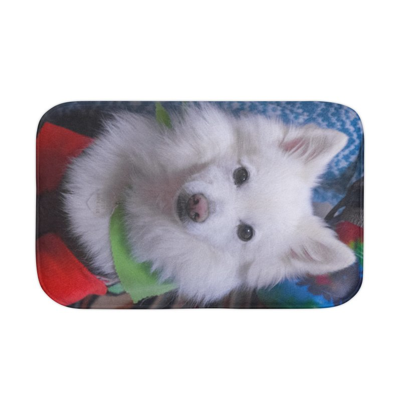 Joey The Magical Dog Colorful Home Bath Mat by Joey The Magical Dog