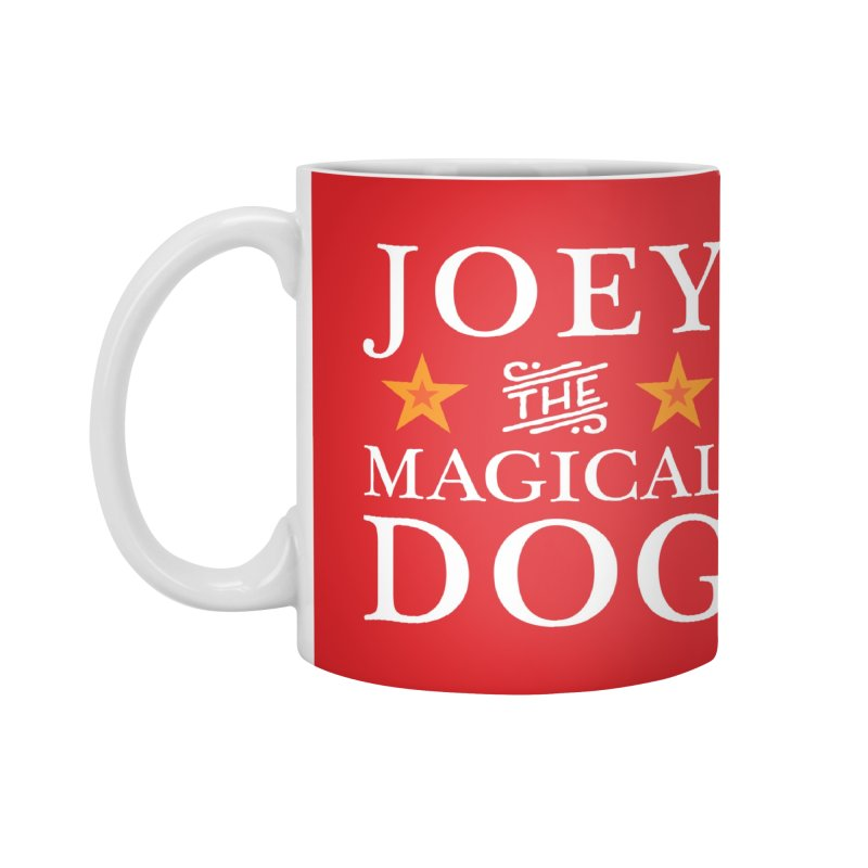 Joey The Magical Dog Colorful Accessories Mug by Joey The Magical Dog