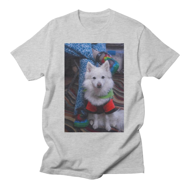 Joey The Magical Dog Colorful Men's T-Shirt by Joey The Magical Dog