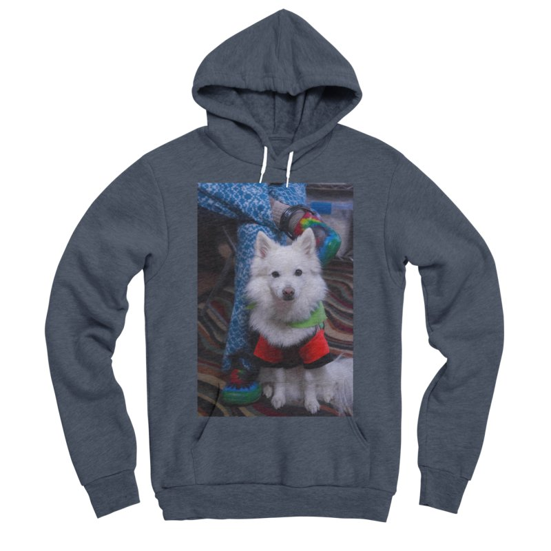 Joey The Magical Dog Colorful Men's Sponge Fleece Pullover Hoody by Joey The Magical Dog