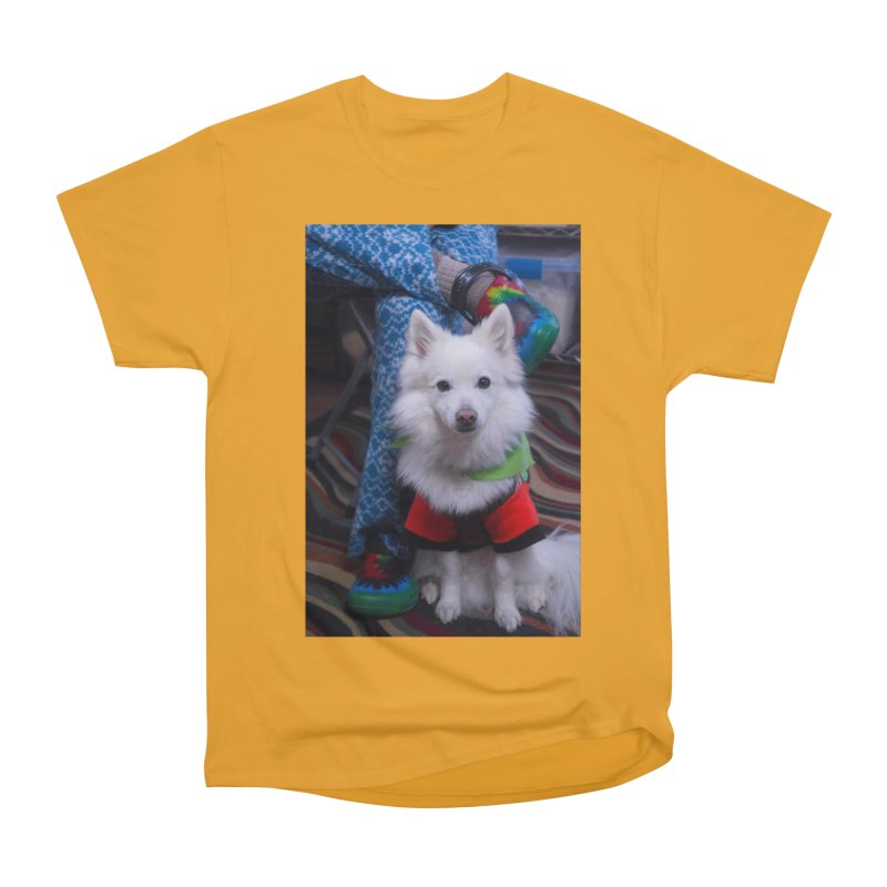Joey The Magical Dog Colorful Women's Heavyweight Unisex T-Shirt by Joey The Magical Dog