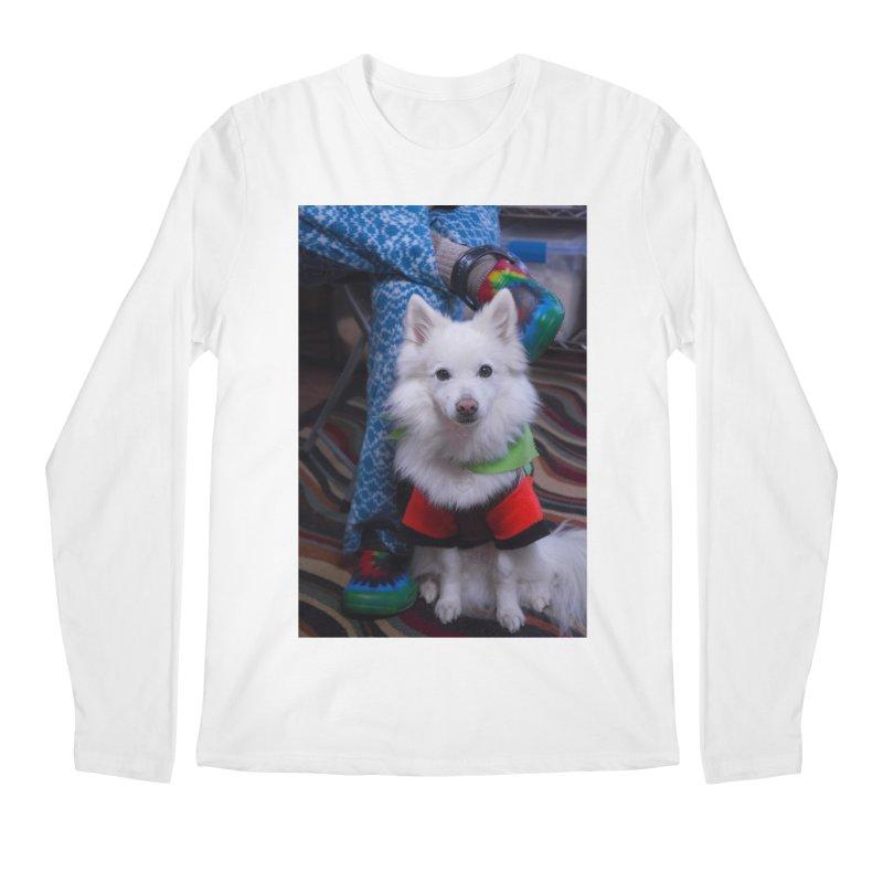 Joey The Magical Dog Colorful Men's Regular Longsleeve T-Shirt by Joey The Magical Dog