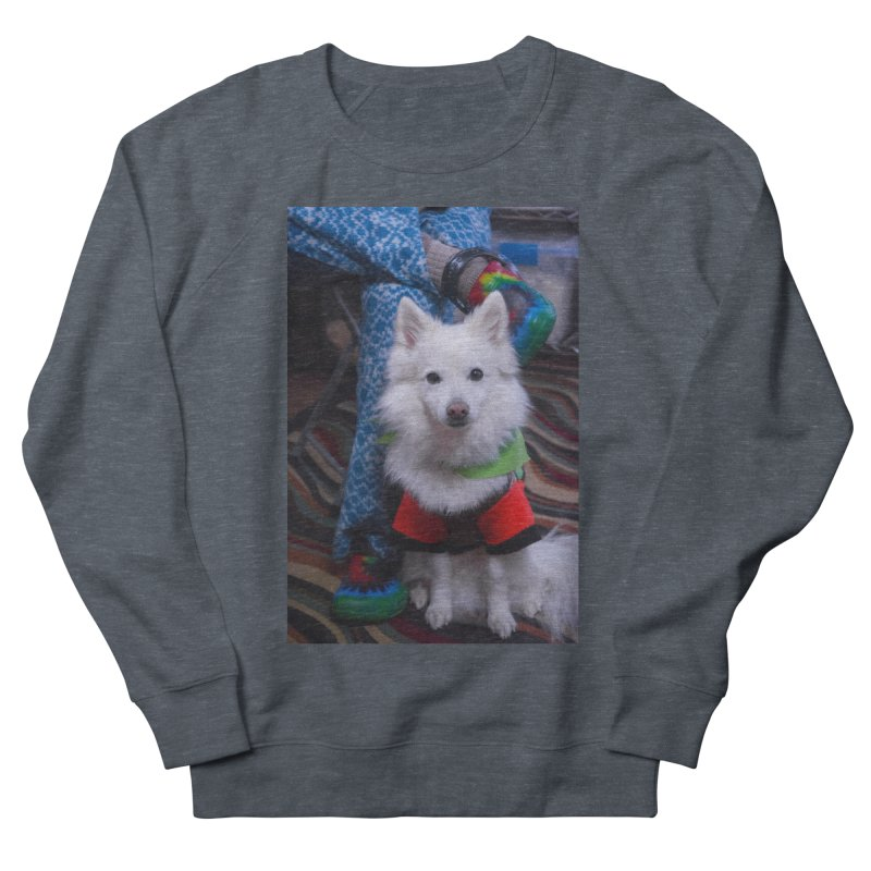 Joey The Magical Dog Colorful Men's French Terry Sweatshirt by Joey The Magical Dog