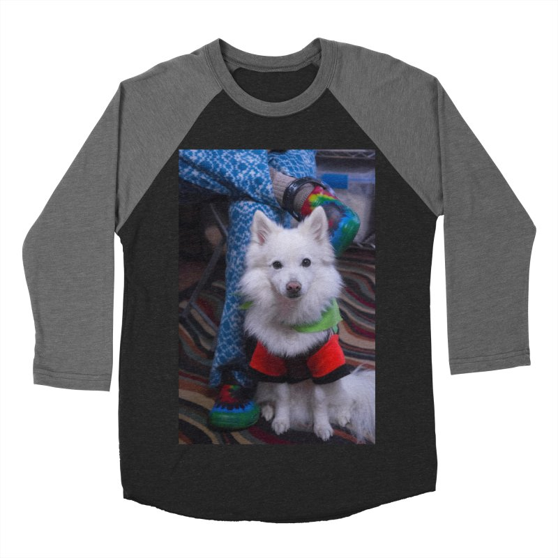 Joey The Magical Dog Colorful Women's Baseball Triblend Longsleeve T-Shirt by Joey The Magical Dog