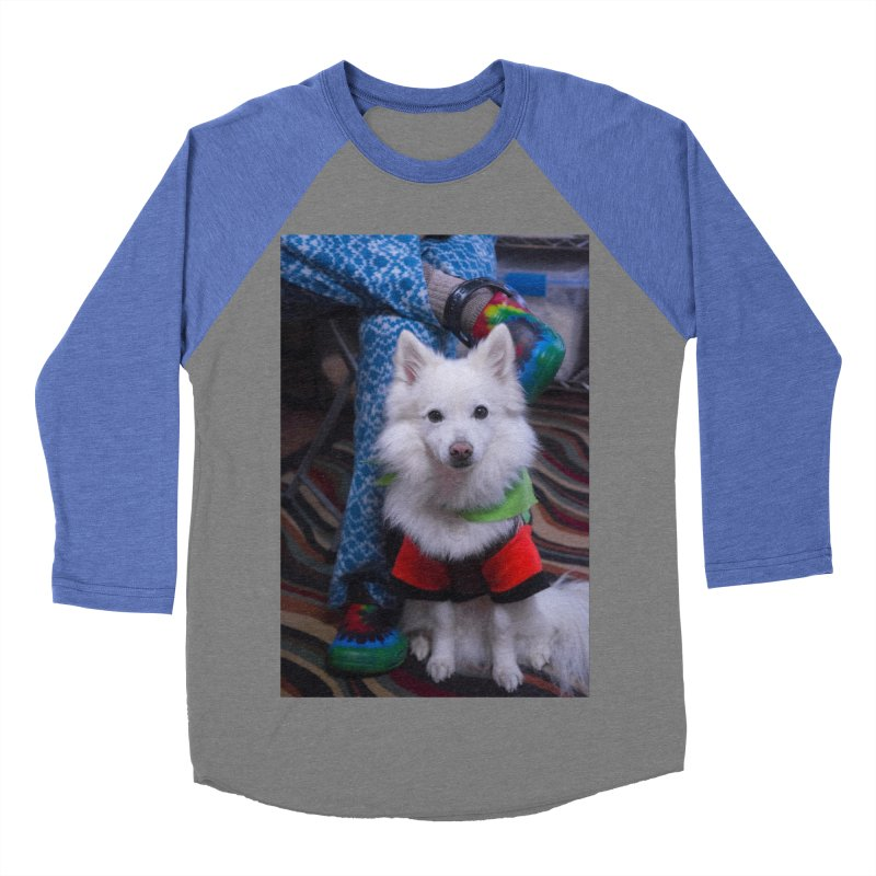Joey The Magical Dog Colorful Men's Baseball Triblend Longsleeve T-Shirt by Joey The Magical Dog