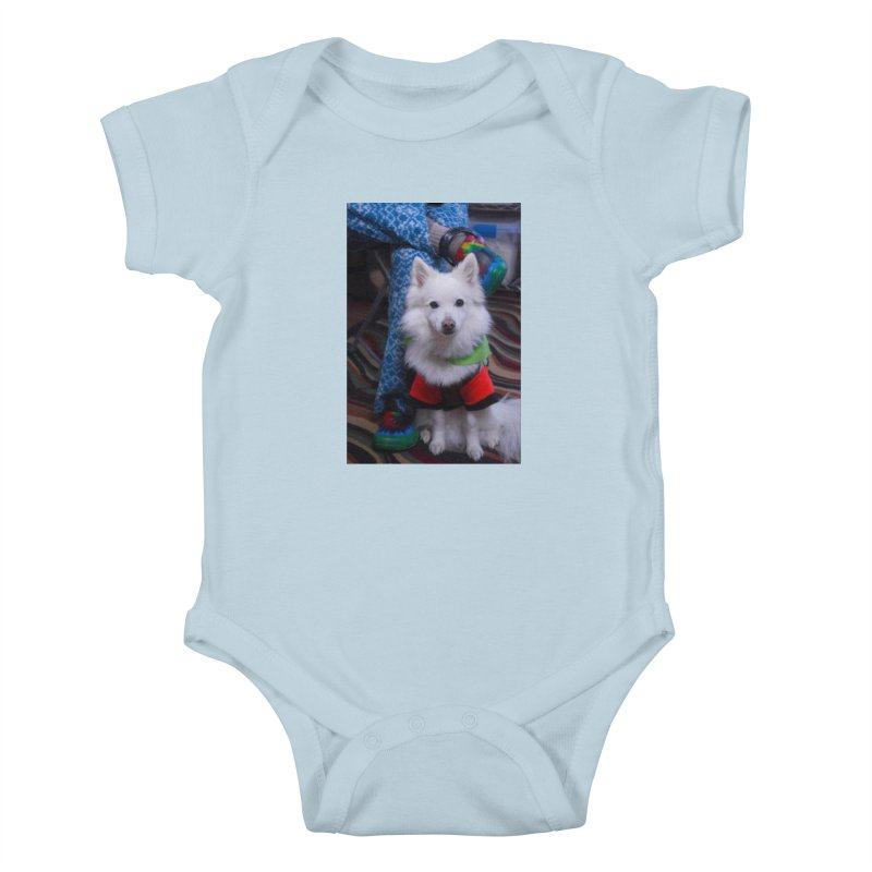 Joey The Magical Dog Colorful Kids Baby Bodysuit by Joey The Magical Dog