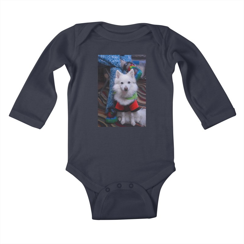 Joey The Magical Dog Colorful Kids Baby Longsleeve Bodysuit by Joey The Magical Dog
