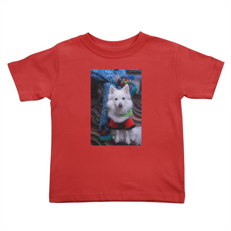 Joey The Magical Dog Colorful Kids Toddler T-Shirt by Joey The Magical Dog