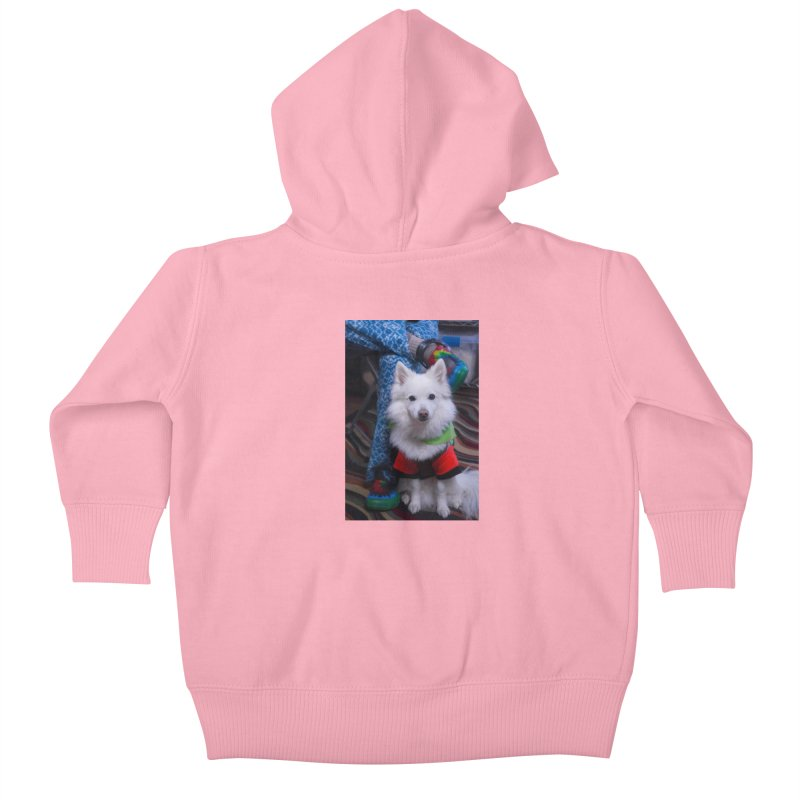 Joey The Magical Dog Colorful Kids Baby Zip-Up Hoody by Joey The Magical Dog