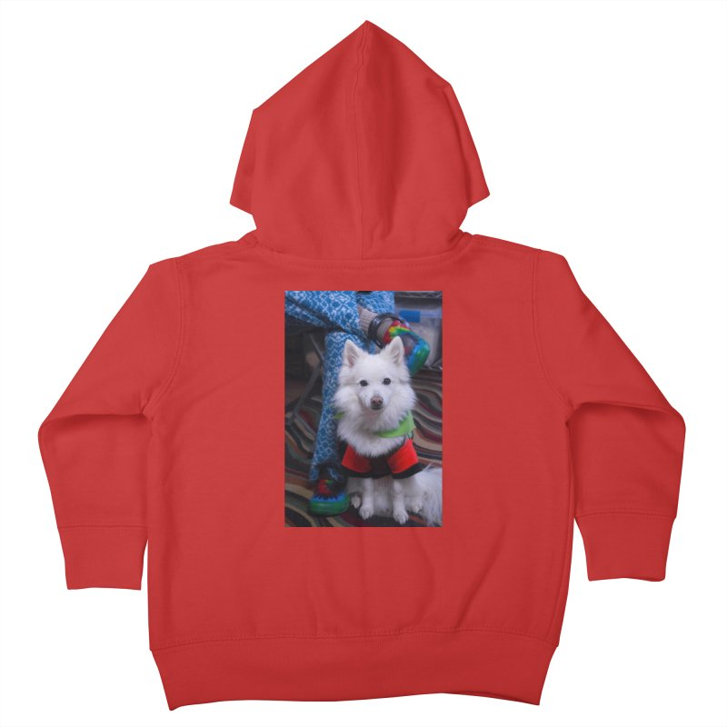Joey The Magical Dog Colorful Kids Toddler Zip-Up Hoody by Joey The Magical Dog