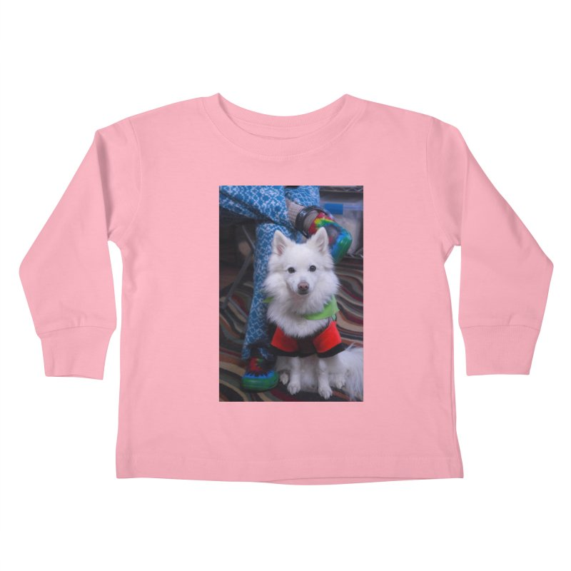 Joey The Magical Dog Colorful Kids Toddler Longsleeve T-Shirt by Joey The Magical Dog