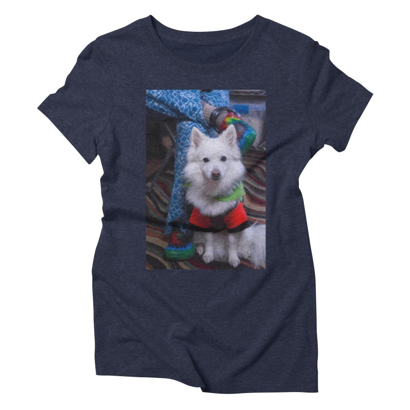 Joey The Magical Dog Colorful Women's T-Shirt by Joey The Magical Dog