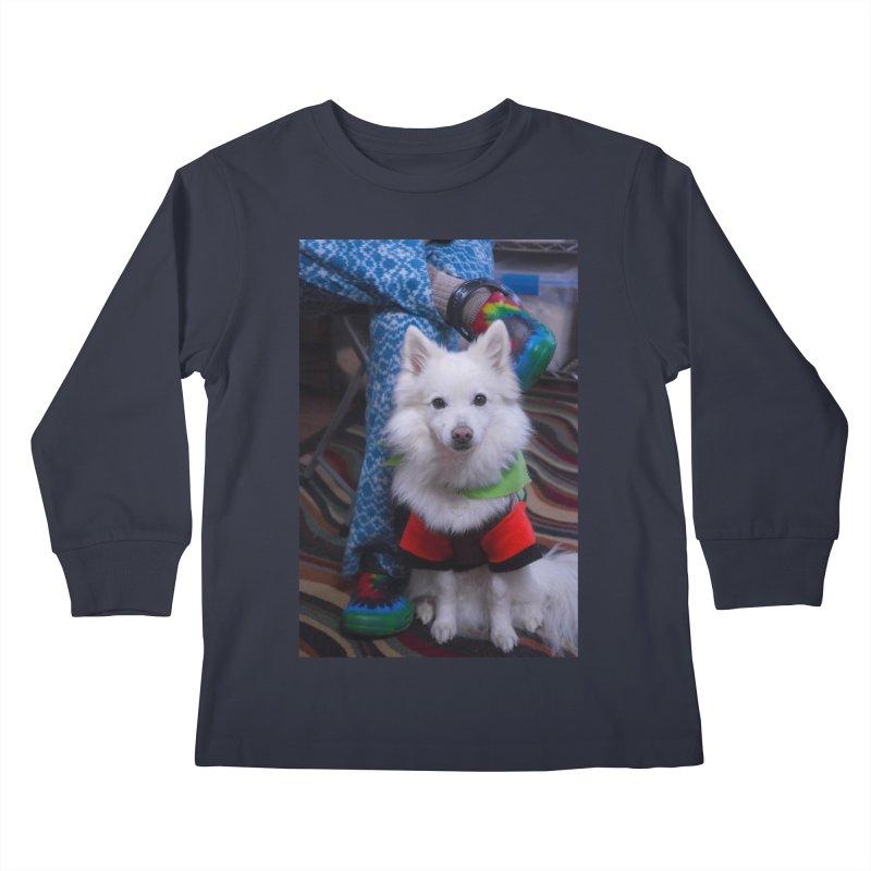 Joey The Magical Dog Colorful Kids Longsleeve T-Shirt by Joey The Magical Dog