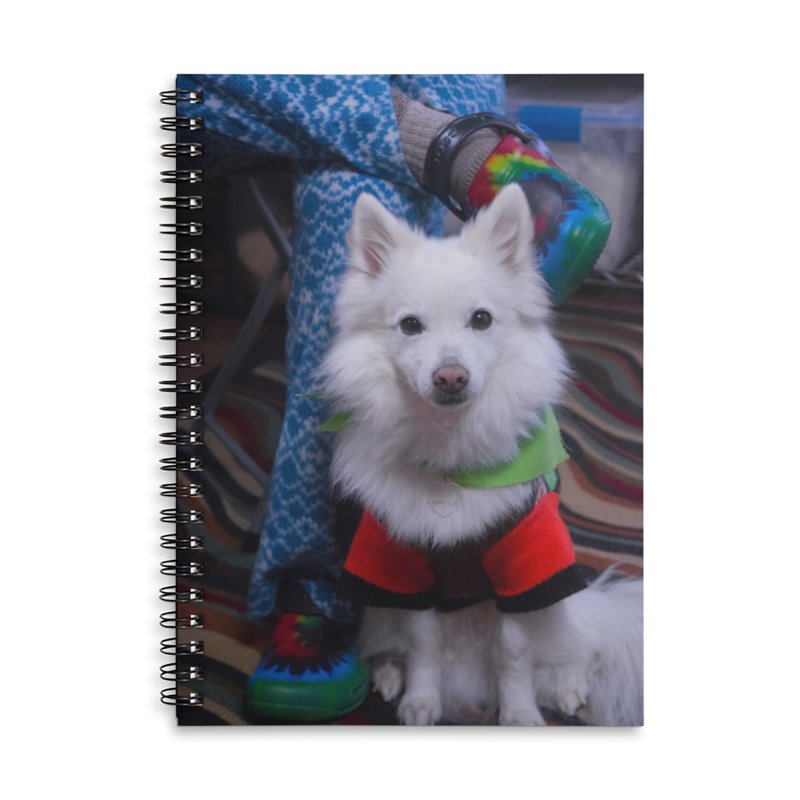 Joey The Magical Dog Colorful Accessories Lined Spiral Notebook by Joey The Magical Dog
