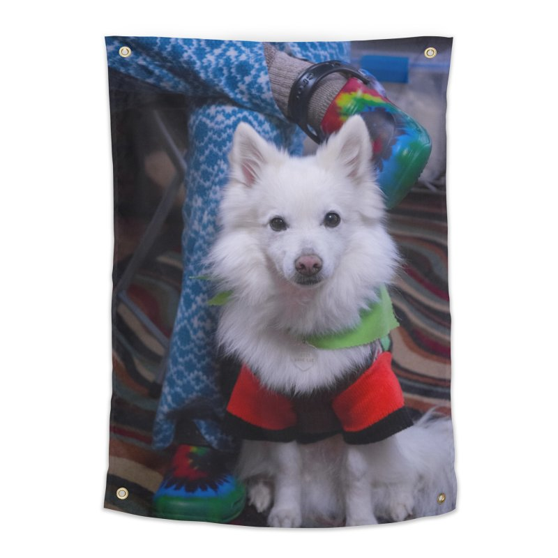 Joey The Magical Dog Colorful Home Tapestry by Joey The Magical Dog
