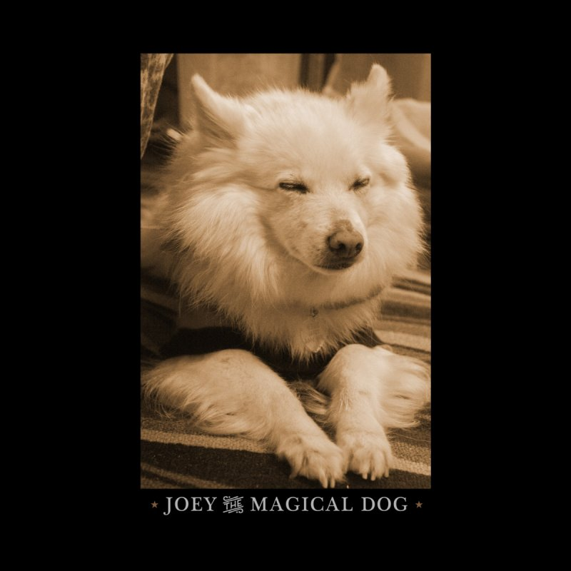 Joey Asleep Sepia Tone Kids Pullover Hoody by Joey The Magical Dog
