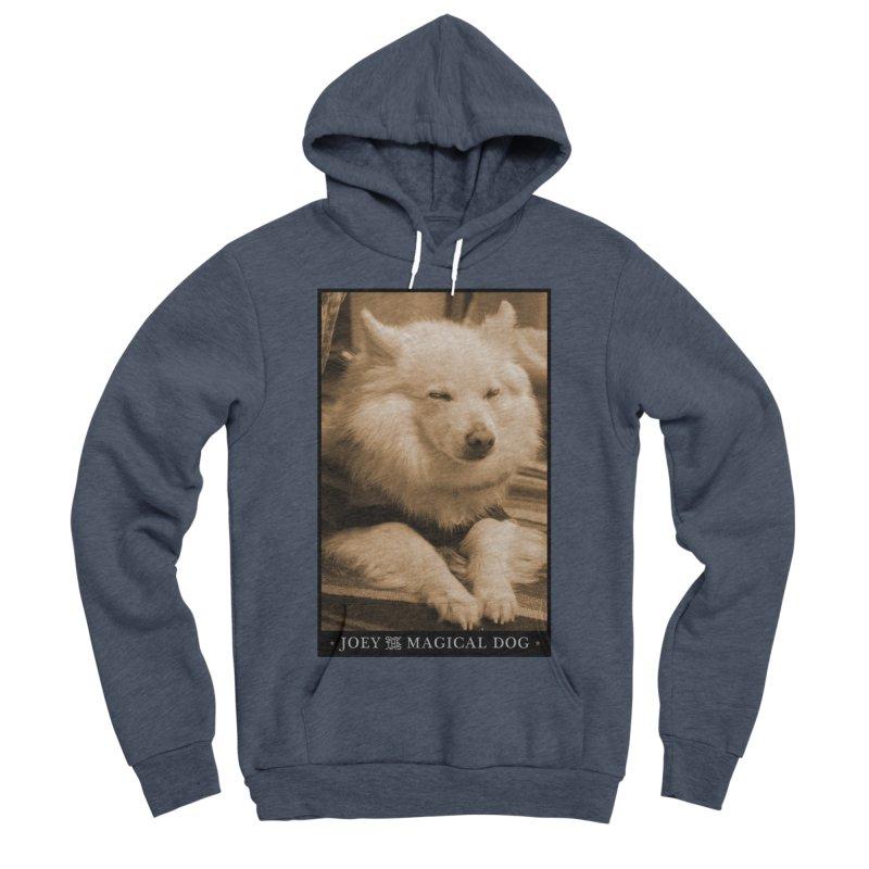 Joey Asleep Sepia Tone Women's Sponge Fleece Pullover Hoody by Joey The Magical Dog