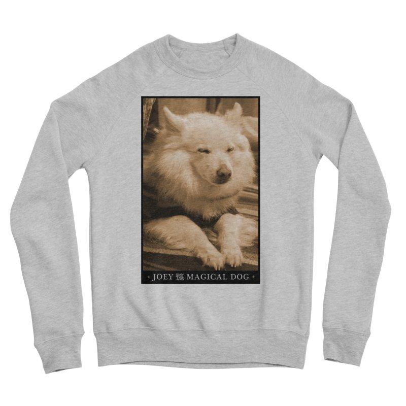 Joey Asleep Sepia Tone Women's Sponge Fleece Sweatshirt by Joey The Magical Dog