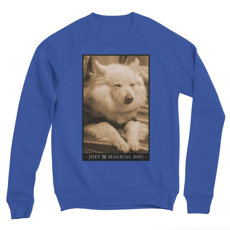Joey Asleep Sepia Tone Women's Sweatshirt by Joey The Magical Dog