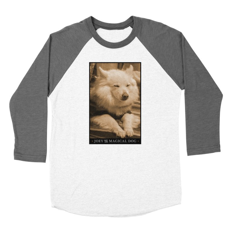 Joey Asleep Sepia Tone Women's Longsleeve T-Shirt by Joey The Magical Dog
