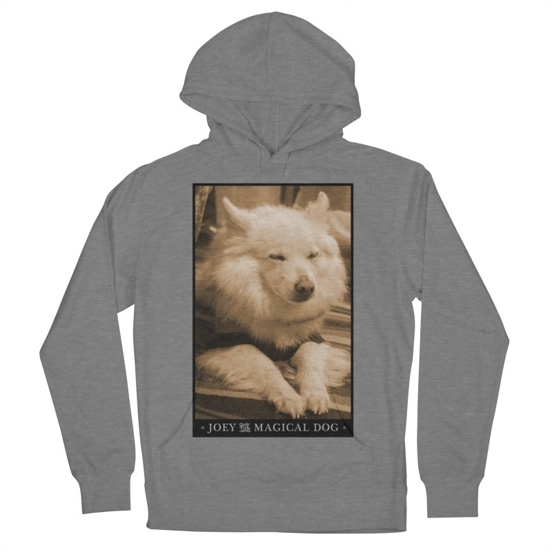 Joey Asleep Sepia Tone Women's French Terry Pullover Hoody by Joey The Magical Dog