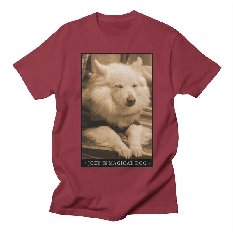 Joey Asleep Sepia Tone Women's T-Shirt by Joey The Magical Dog