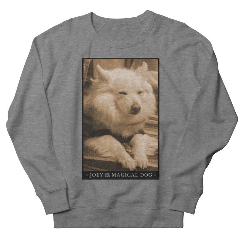 Joey Asleep Sepia Tone Women's French Terry Sweatshirt by Joey The Magical Dog