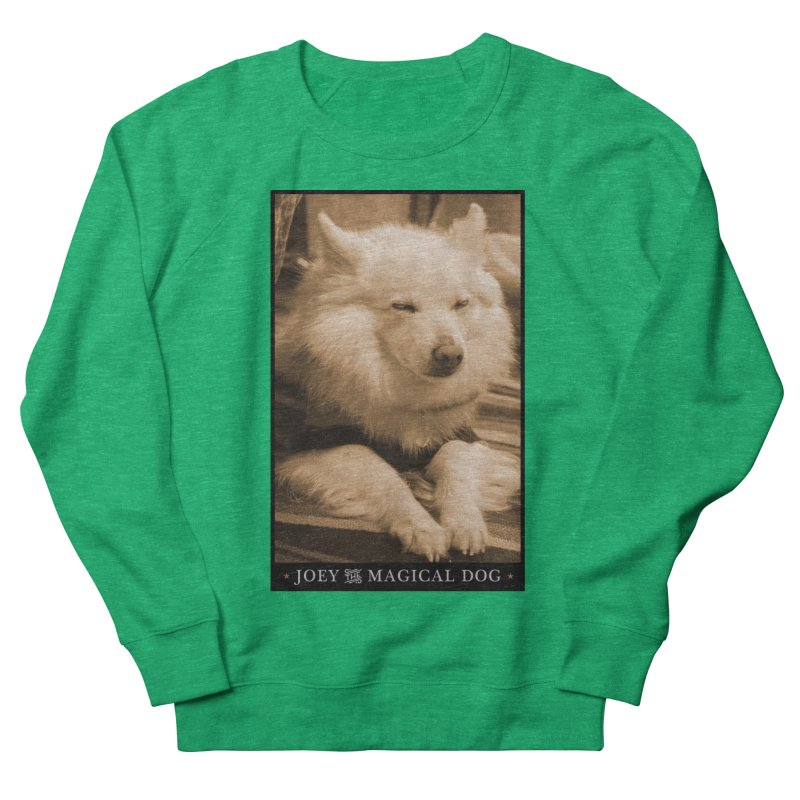 Joey Asleep Sepia Tone Men's French Terry Sweatshirt by Joey The Magical Dog