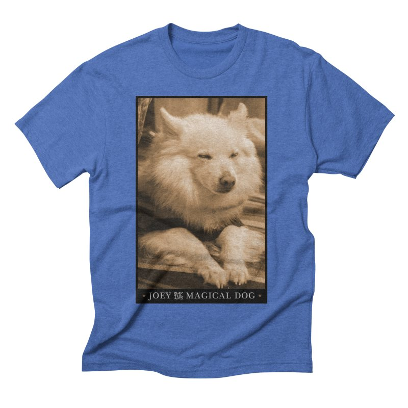 Joey Asleep Sepia Tone Men's T-Shirt by Joey The Magical Dog