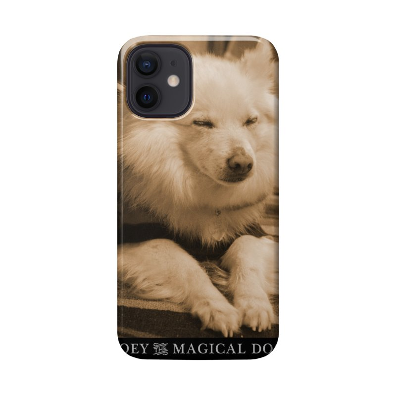 Joey Asleep Sepia Tone Accessories Phone Case by Joey The Magical Dog