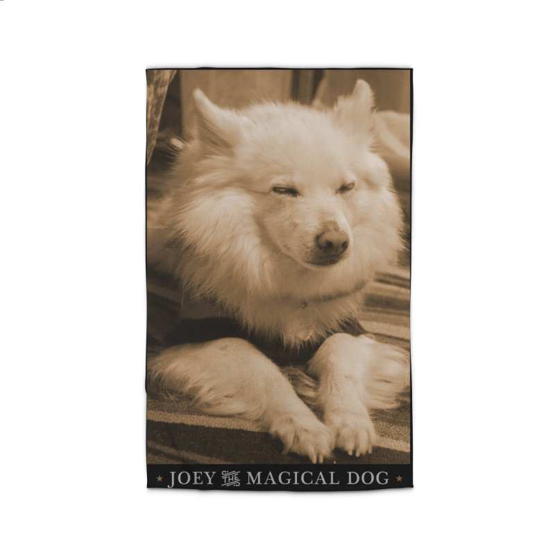 Joey Asleep Sepia Tone Home Rug by Joey The Magical Dog