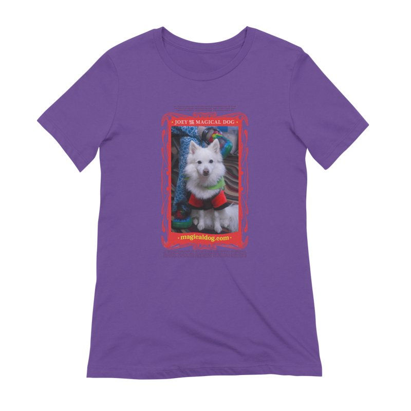 Joey The Magical Dog Poster Women's Extra Soft T-Shirt by Joey The Magical Dog