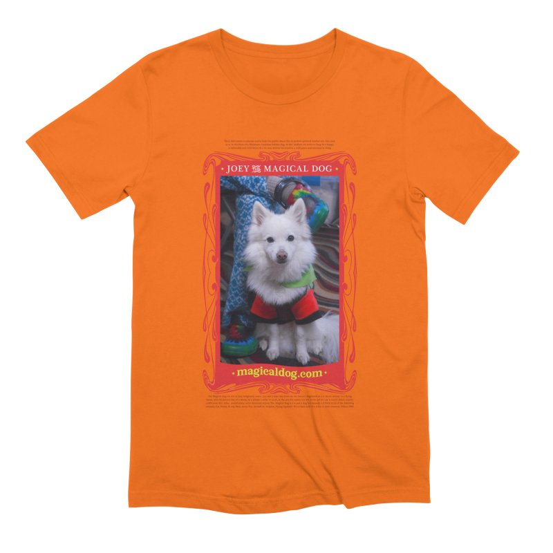 Joey The Magical Dog Poster Men's Extra Soft T-Shirt by Joey The Magical Dog