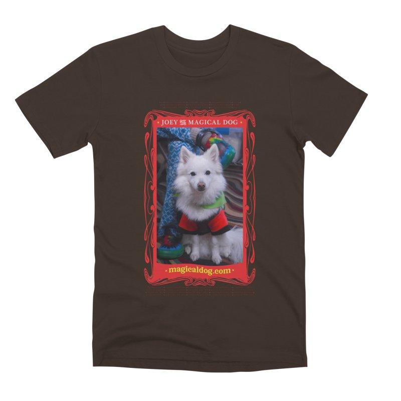 Joey The Magical Dog Poster Men's Premium T-Shirt by Joey The Magical Dog