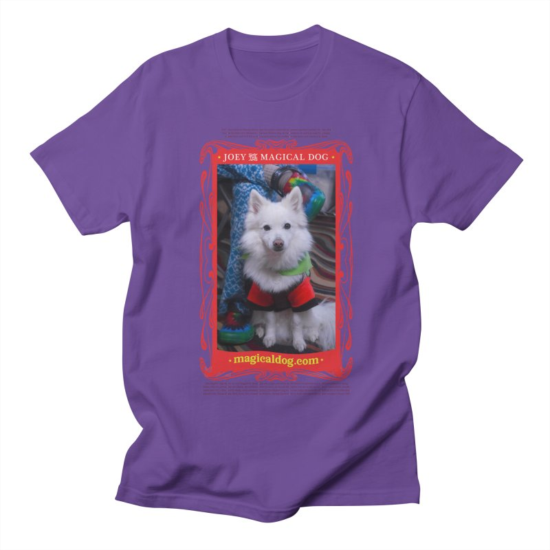 Joey The Magical Dog Poster Women's Regular Unisex T-Shirt by Joey The Magical Dog