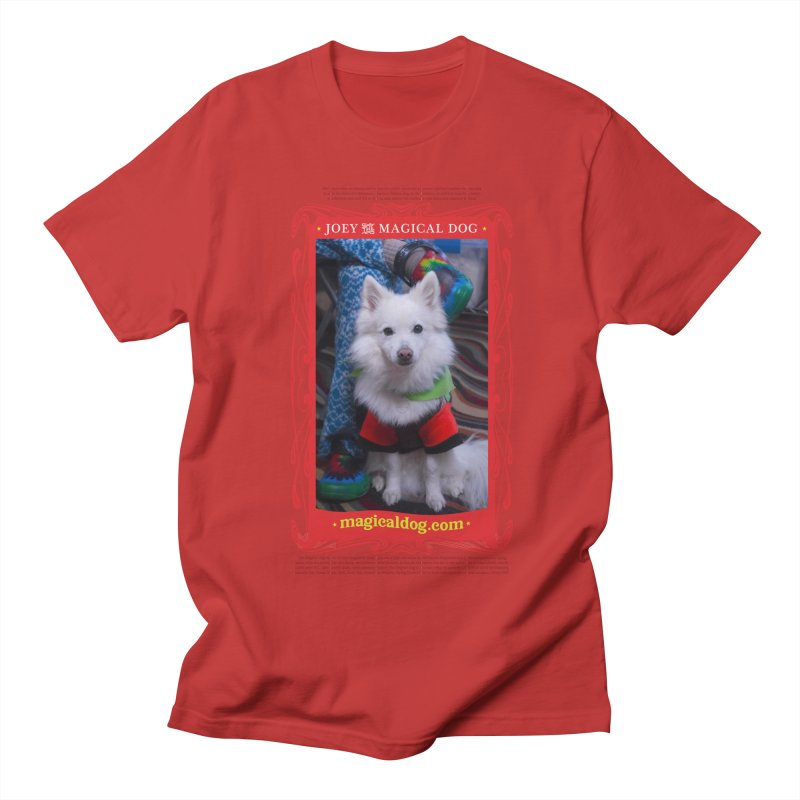 Joey The Magical Dog Poster Men's T-Shirt by Joey The Magical Dog