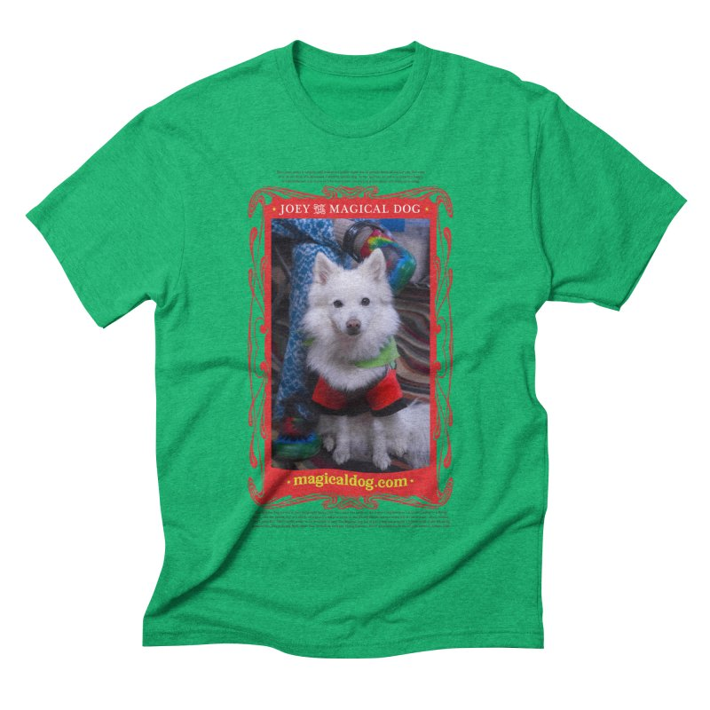 Joey The Magical Dog Poster Men's Triblend T-Shirt by Joey The Magical Dog