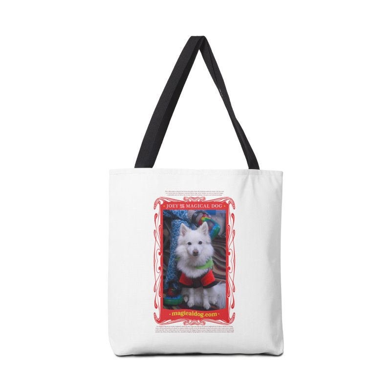 Joey The Magical Dog Poster Accessories Bag by Joey The Magical Dog