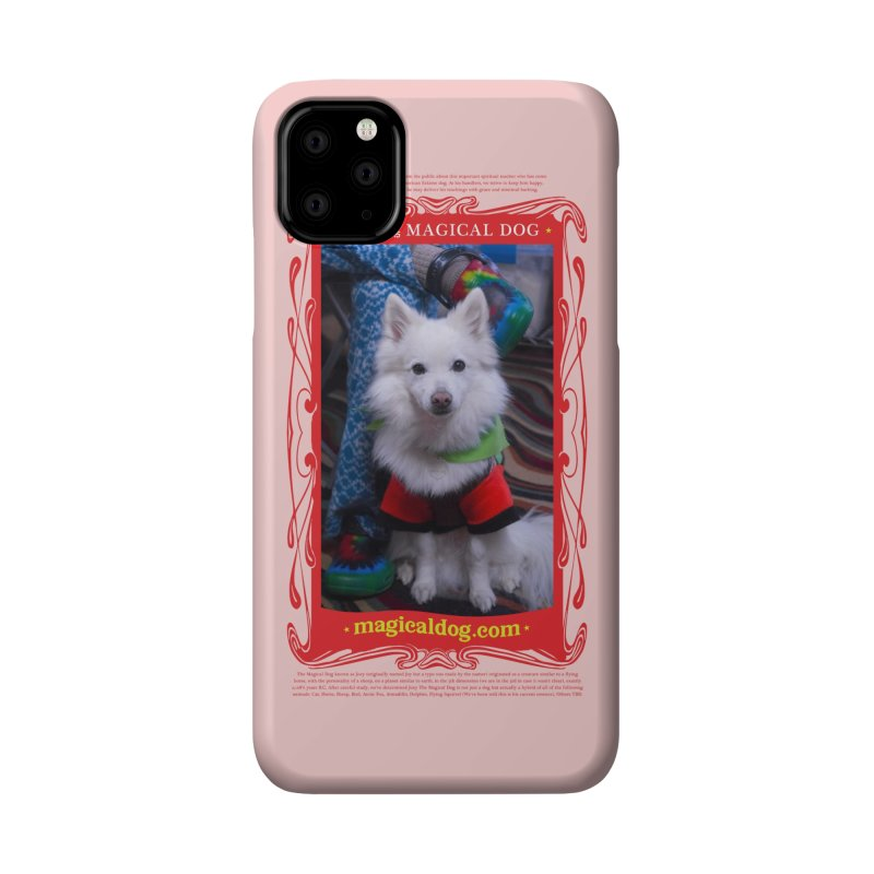 Joey The Magical Dog Poster Accessories Phone Case by Joey The Magical Dog