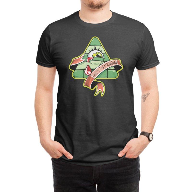 Illuminati Exposed Men's T-Shirt by MAG(ic) creatures